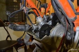 Front cylinder valves within spec
