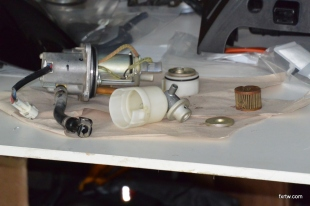 Fuel pump rebuild