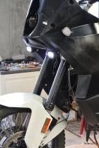 Aux lights installed