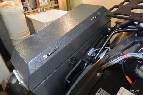 12V socket for charging on the road