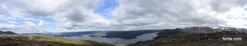Panorama from the Lookout Trail