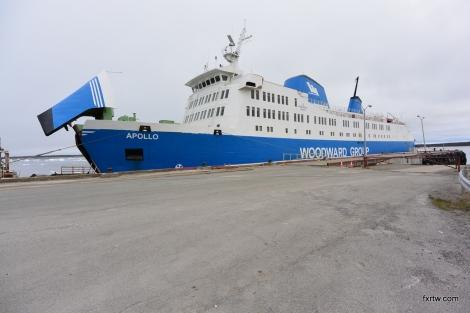 Ferry to Blanc-Sablon