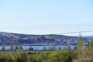 Iron ore mine in Labrador City