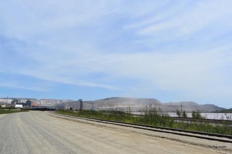 Mont Wright iron ore mine