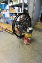 Custom wheel alignment stand