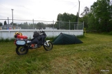 Cheap camping spot out of Sudbury