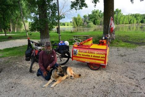 Barking across Canada