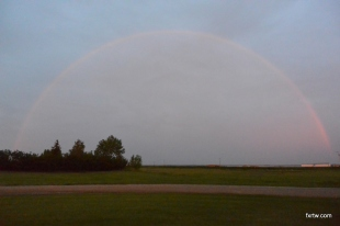 Hard to picture a rainbow