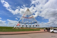 Tallest tepee in the world