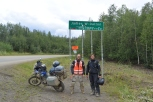 Out and back from Prudhoe bay