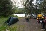 Nice camping spot by the Kenai River