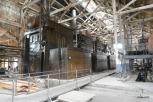 Power house steam boilers