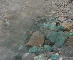 Concentrated copper ore
