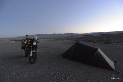 Good camping spot in the middle of nowhere