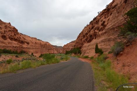 Start of Burr Trail