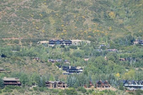 Mansions in Aspen