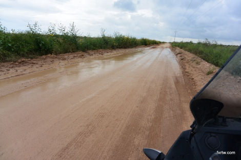Road work + rain = ?